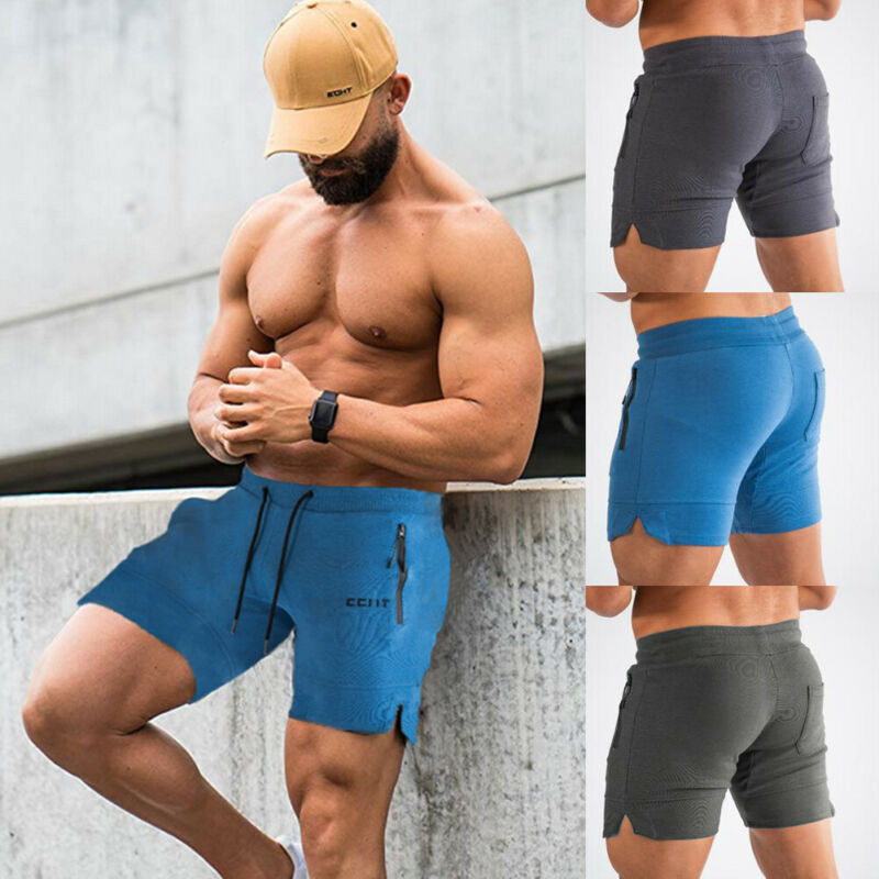 2019 Newest Fashion Men's Jogging Running Sports Shorts Breathable Gym Training Fitness Hot Sale  M-3XL