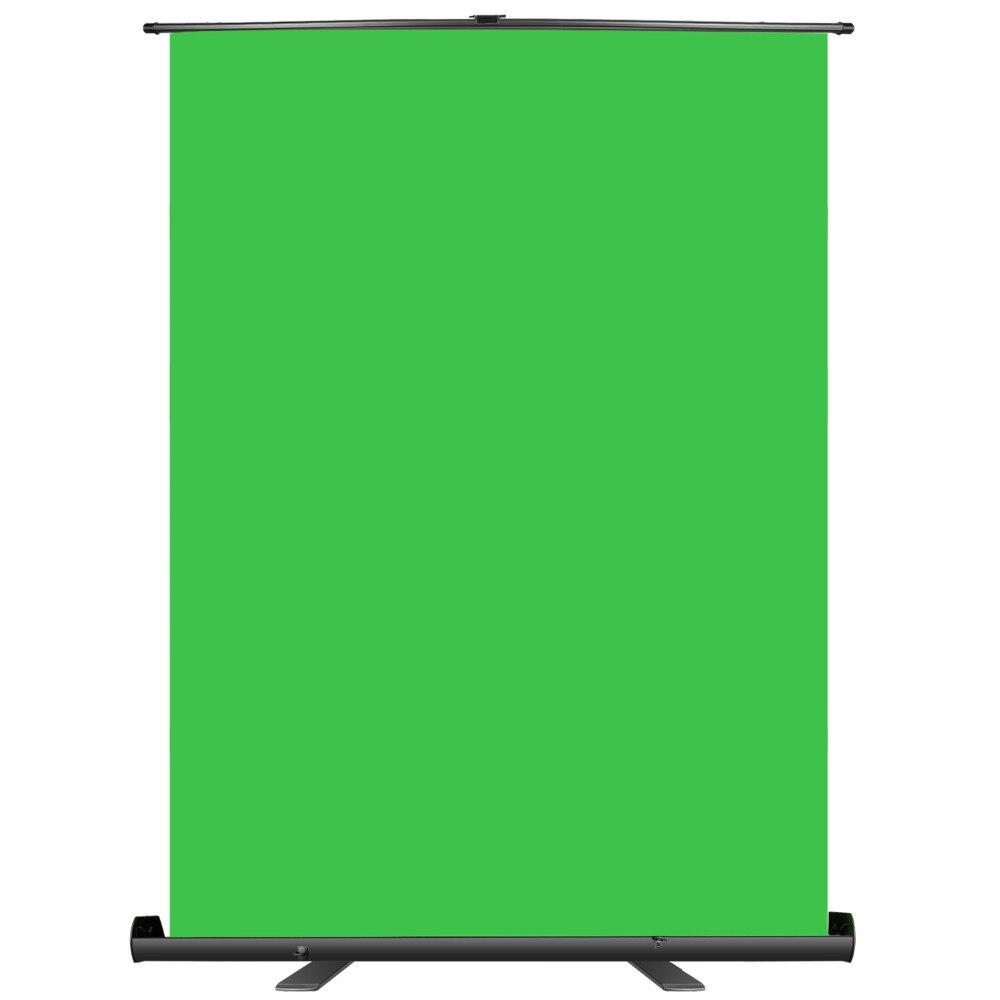 Neewer fond d'écran vert-panneau de fond Chromakey pliable avec cadre autobloquant Chroma résistant aux rides-vert