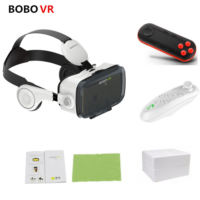 BOBOVR Z4 3D Cardboard Helmet Leather Virtual Reality Glasses with Stereo Headset Bobo Vr Box For 4-6 inch Mobile Phone original bobovr z4 leather 3d cardboard helmet virtual reality vr glasses headset stereo box bobo vr for 4 6 mobile phone