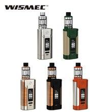 Оригинальный wismec Хищник 228 комплект с elabo бак 4.9 мл НС triple катушки VS 228 Вт Хищник коробка VAPE mod e-сигареты комплект/mod VS чужой 220 Вт