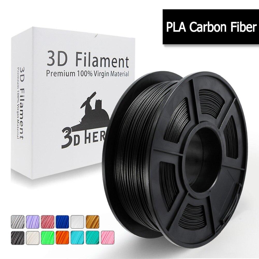 PLA Carbon Fiber 3D Printer Filament, PLA Carbon Fiber