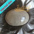4 In Beautie Super Natural Injection Polyskin Toupee, No knots Hair System For Men and Women