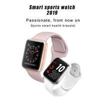IWO9 IWO 9 Smart Watch Series 4 44mm with GPS Sport Heart Rate Monitor Smartwatch for iOS iPhone 8 Android Phone Apple Watch