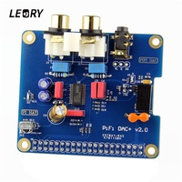 LEORY HIFI DAC Digital Audio Card DAC To S PDIF Pinboard For Raspberry Pi 3 Model
