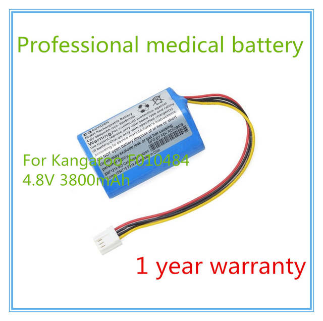 US $45 85 |Infusion Pump battery Replacement For F010484, Covidien 1041411,  AMED0138, Tyco Healthcare 382400, Syringe Pump battery-in Laptop Batteries