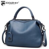 ZOOLER 2018 new delicate designed real genuine leather bag handbags women famous brands luxury shoulder bag bolsa feminina 8116