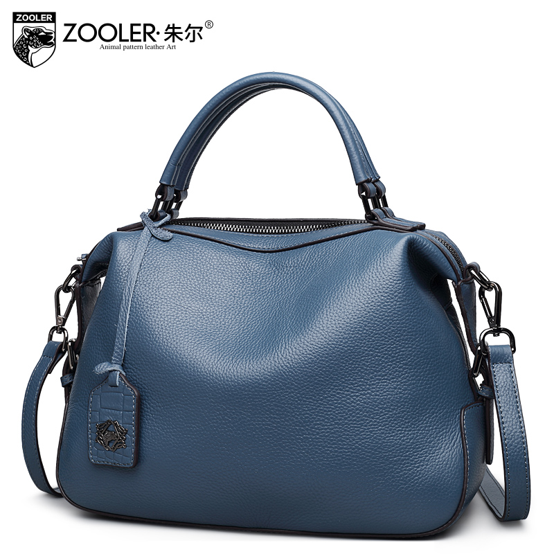 ZOOLER 2018 new delicate designed real genuine leather bags handbags women famous brands luxury shoulder bag bolsa feminina 8116 new zooler genuine leather bags for women luxury handbags bags woman famous brand designer shoulder bag bolsa feminina u 505