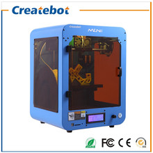 High Printing Precison 0.1-0.2mm Createbot MINI 3D Printer with Dual Nozzle, Removable Plate and English LCD Screen for Sale