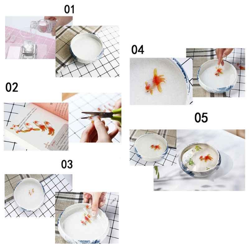 Nhựa Chống UV Hàng Thủ Công Chất Liệu Độn Dán Hoa Nhiều Màu Sắc Họa Tiết Pha Lê Động Vật Phong Cảnh Tự Làm Trang Sức Làm Dụng Cụ Trang Trí