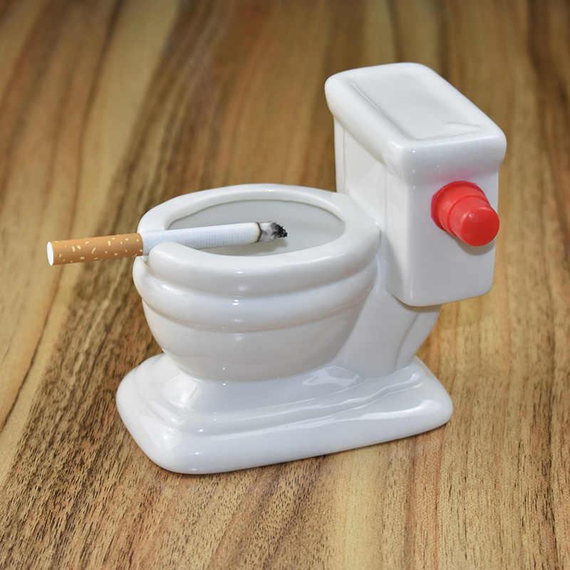 Personalità creativa Posacenere Moda Bella Toilette di Lavaggio divertente regalo per il Mio Ragazzo Ash Tray Posacenere In Ceramica Posacenere Sigarette
