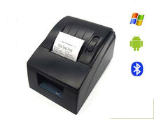 58mm USB Bluetooth Receipt Thermal Pocket Printer For Android IO S Moblie Phone/Supmarket PC Compatible