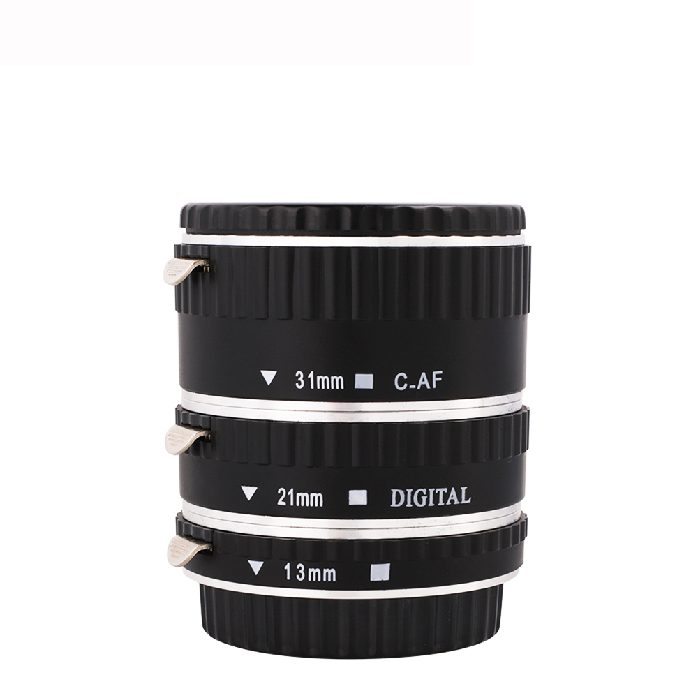 Image 3 - Kaliou 13mm 21mm 31mm Auto Focus Macro Extension Tube Set for Canon EF EF S Lens Canon 700d t5i 7d 5d Black Red Silver color-in Lens Adapter from Consumer Electronics
