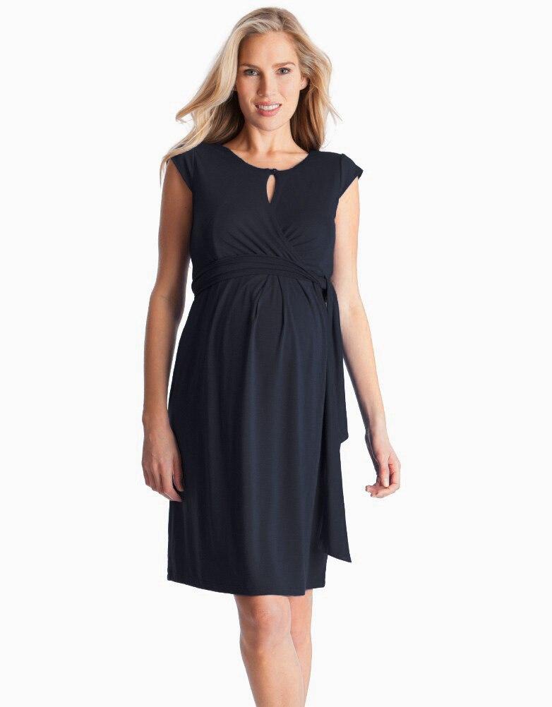 Summer Clothing Fashion Large Size Maternity Women Dress Maternity Dress Outdoor -2807