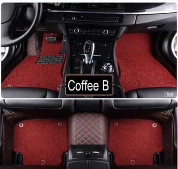 Car floor mats Case for Suzuki Alto Jimny SX4 S-cross 5D Waterproof car-styling leather Anti-slip carpet liners