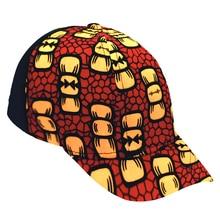 African Hot Sale Ankara Print Hat Custom Logo Brand Printing Black Mesh Cap Snapback Hat Wholesale цена 2017