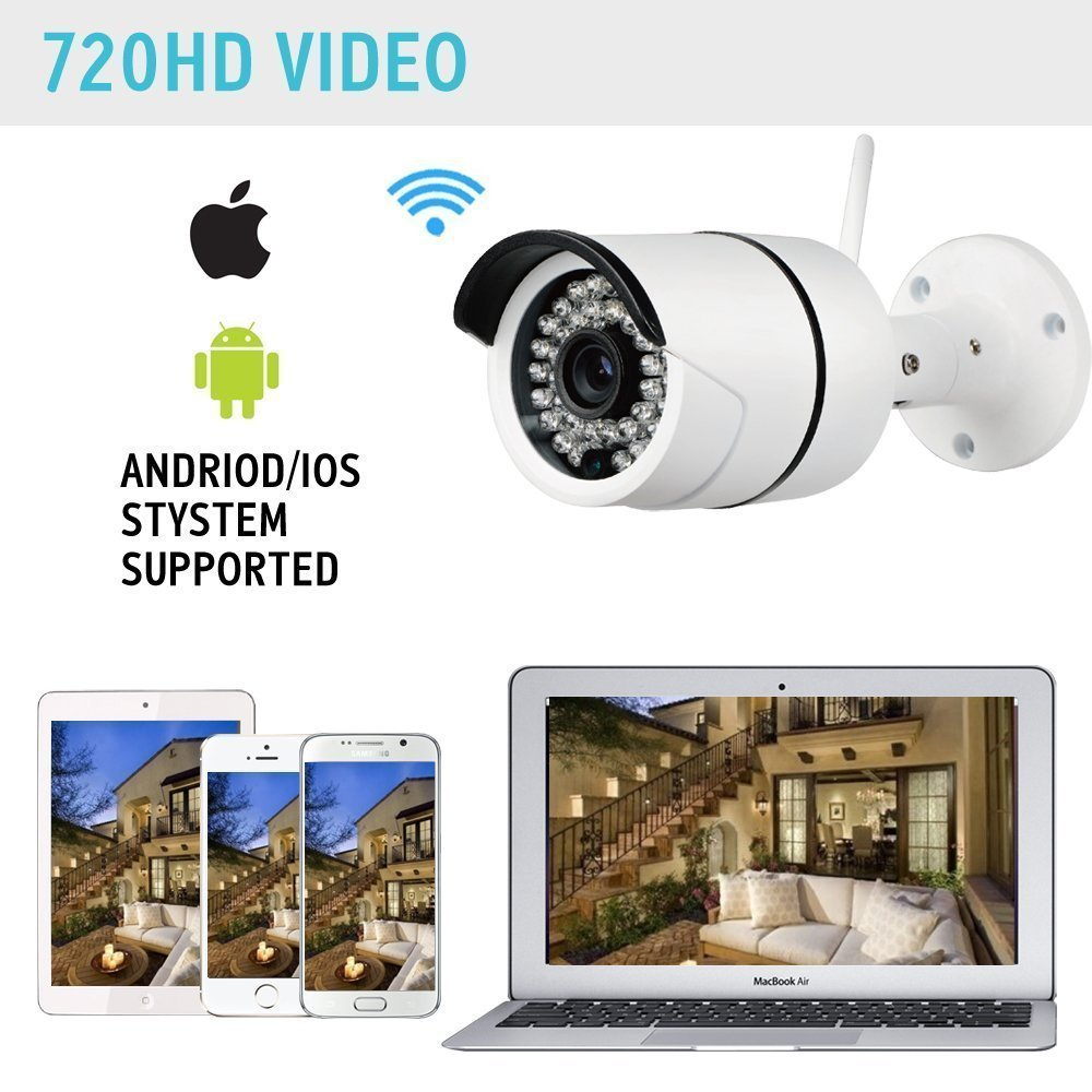 Yobang Security 720P Outdoor IP Camera WiFi Wireless Smart ...