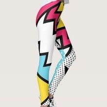 Quickitout, Новое поступление, сексуальные женские леггинсы в черно-белую точку, 3D принт, цветная полосатая одежда, обтягивающие штаны, штаны для тренировок