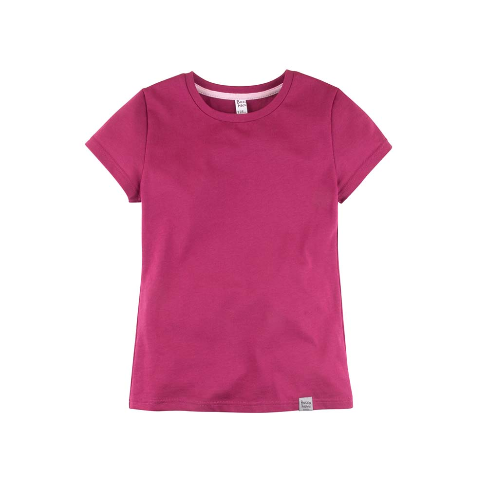 T-Shirts BOSSA NOVA for girls 251k-161m Top Kids T shirt Baby clothing Tops Children clothes t shirts frutto rosso for girls and boys sm117k021 top kids t shirt baby clothing tops children clothes