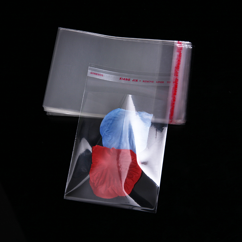 Transpa Self Sealing Plastic Bags For Jewelry Packaging Clear Resealable Cellophane Cello Poly Envelope Baggie In Gift Wring