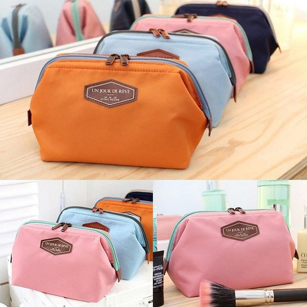 Latest Multifunction Purse Box Travel Makeup Cosmetic Bag Toiletry Case Pouch Organiser