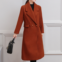 Winter Coat Women Fashion Korean Long Plus Size Autumn Cashmere Jackets Overcoats for Wool Cotton Coats