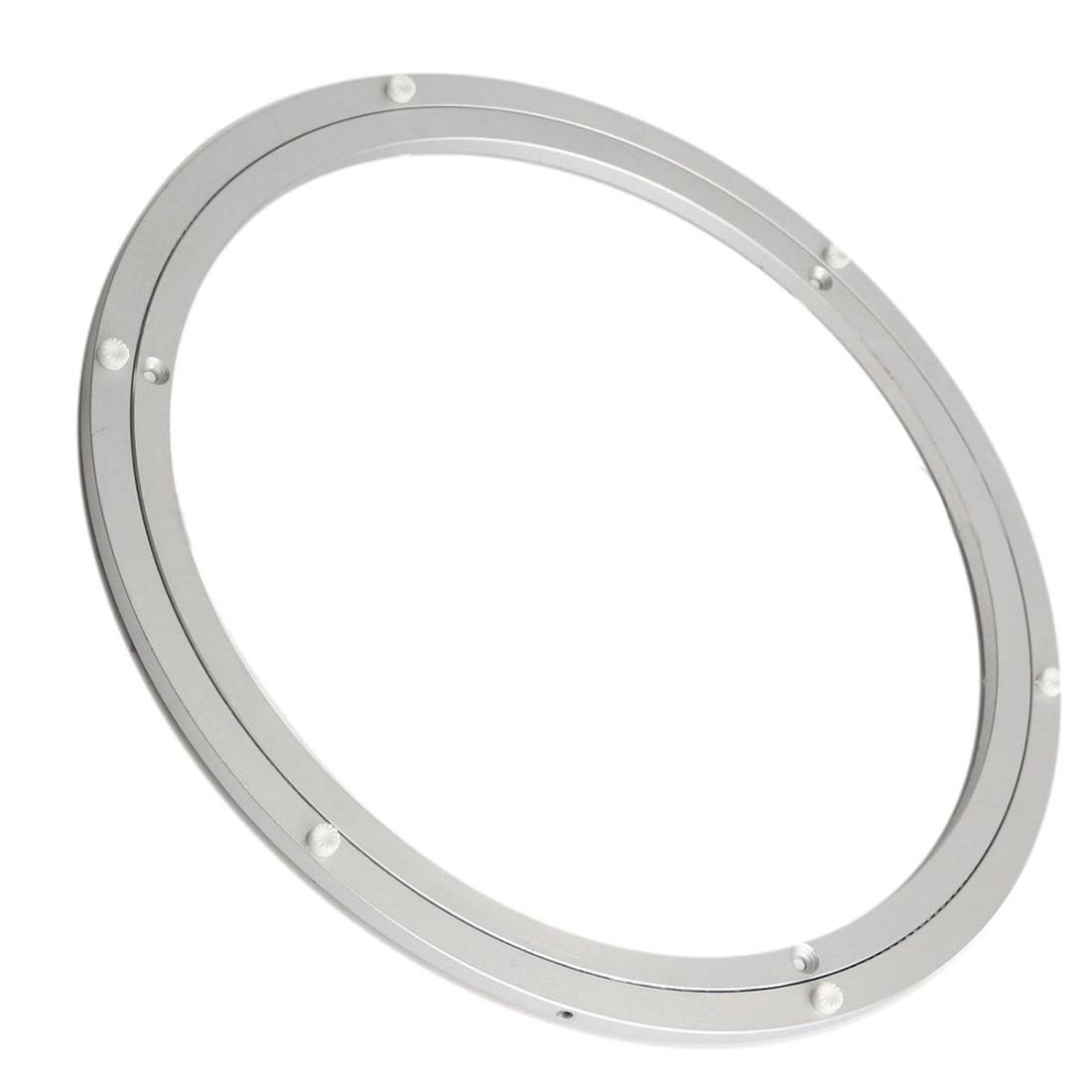 Aluminium Rotating Turntable Bearing Swivel Plate 18 Inch Silver