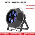2017 Factroy Price 113W Bee Eye UFO Effect Light 6X15W RGBW 4IN1 LED + 60 Blue SMD For Stage Dj Disco Laser Lights New Design