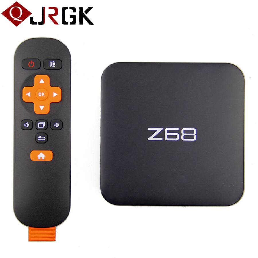 New Z68 Android 5.1 TV Box 2GB 16GB WiFi Gigabit LAN UHD 4K*2K RK3368 Octa-Core 64 Bits Mini PC DLNA Smart Media Player цена