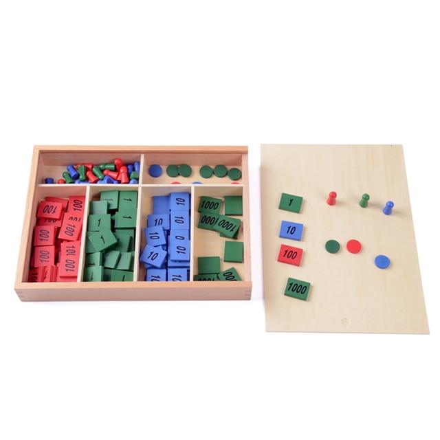 Array Montessori Wooden Material Toy Constructive Triangles Rectangular Pentagon 2