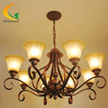 Continental American chandelier lamp living room bedroom lamp European-style led lights resturant chandelier ceiling