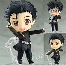 Anime Yuri!!!on Ice Yuri Katsuki Skating Ver.Nendoroid PVC Figure Figurine(China)