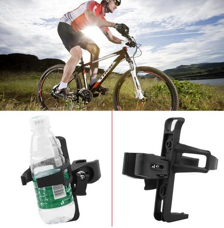 Red Cycling Bike Bicycle Drink Water Bottle Cup Holder Mount Cage Polycarbonate