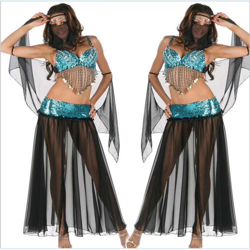 New Sexy Banshee Halloween Costumes Romantic Fairy Tale Strapless Ariel Maxi Long Lady SequinPatchwork Evening Halloween Costume