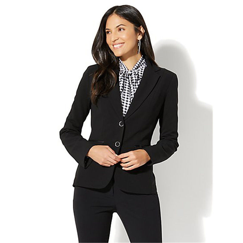 Custom Made Office Uniform Designs Women Formal Suit for Wedding Business Suits Blazer Lady Evening Party Suits Blazer Pants