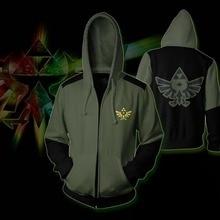The Legend of Zelda Costume Game Cosplay Hoodie Sweatshirt Jacket Coats Men and Women