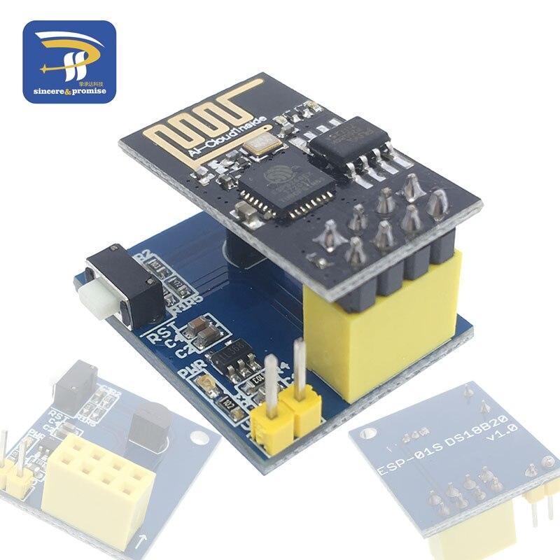 Модуль датчика температуры ESP8266, DS18B20, модуль датчика температуры esp8266, Wi Fi, NodeMCU для Arduino, Набор для творчества|nodemcu wifi|nodemcu esp8266wifi module | АлиЭкспресс