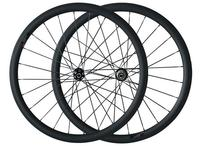 700C oem Краска наклейка Китайский углерода велокросс дорожный мотоцикл диск клинчер колеса 38 мм через ось спереди 100*12 сзади 142*12 для продажи