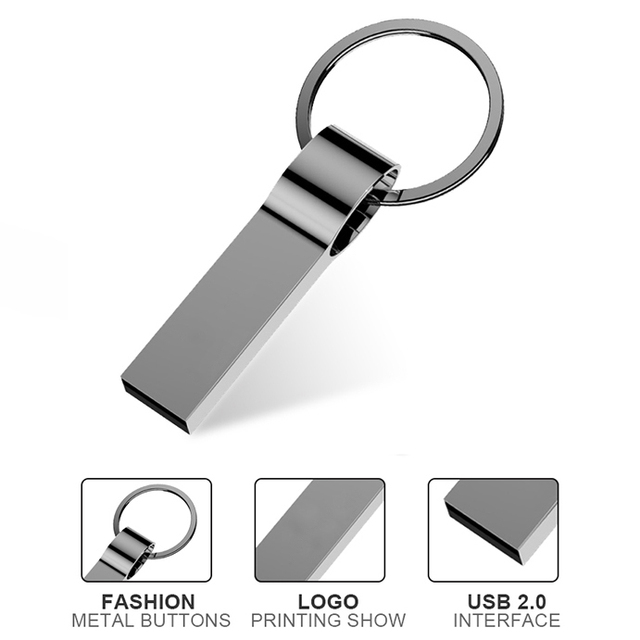 Metal Simple USB Flash Drive