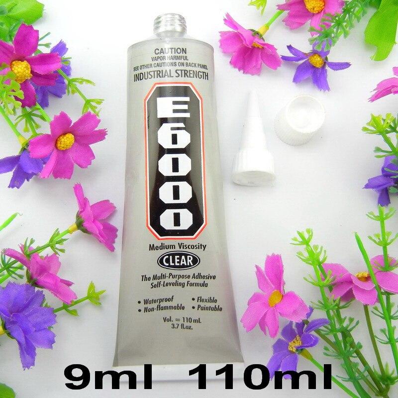 Standard Shipping E6000 9ml 110ml Multi-purpose liquid Super Adhesive glue Jewelry Rhinestones Craft Fix glue diy tools