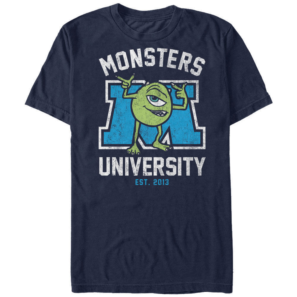Monsters Inc Cartoon Mike Mens Graphic T Shirt M L 234XL F018 Cool Casual pride t shirt men Unisex New Fashion tshirt