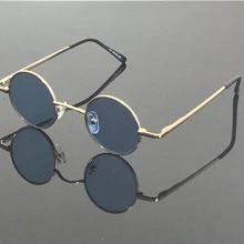 Vintage pequeño redondo primavera bisagras gris lectura gafas de sol Retro + 75 + 100 + 125 + 150 + 175 + 200 + 225 + 250 + 275 + 300