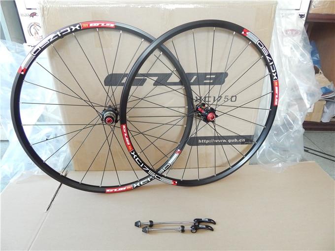 GUB 1750 26'' 27.5 Inches MTB Mountain Bike wheels Hubs 24 Holes Wheelset 8 9 10speed compatible