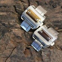 Смотреть пряжка 18 мм 21 мм Из Нержавеющей Стали Развертывания Бабочка Застежка Пряжка Ремешок Полосы