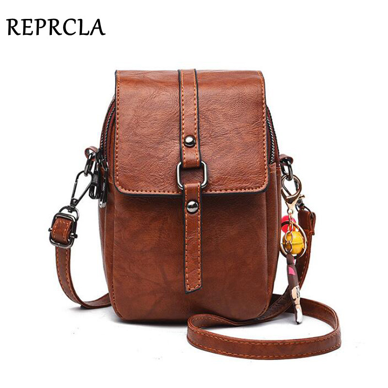 REPRCLA New Small Shoulder Bag Casual Handbag Crossbody Bags For Women Phone Pocket Girl Purse Mini Messenger Bags