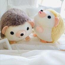 цена Creative Cute Round Fat Hedgehog Plush Toys Stuffed Animal Soft Plush Doll Toy Children Birthday Christmas Gift онлайн в 2017 году