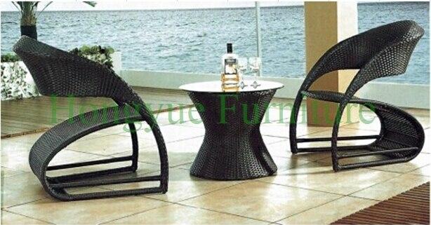 Garden rattan bistro table set furniture designs
