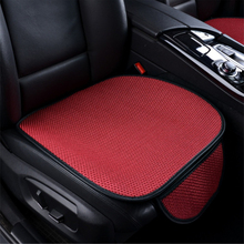 цена на O SHI CAR Front Seat Cushion Breathable Ice silk Car Back Seat Cover six colors Summer Automobile Cushion Bottom Non-slip Pad