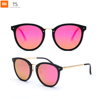Xiaomi Turok Steinhardt TS Brand Retro Sunglasses Colorful Polarized Stainless Sun Lenses Glasses