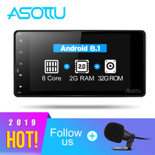 Asottu COLD7060 Android 8,1 2G + 32G 8 core coche dvd de video de radio de navegación gps para Mitsubishi outlander lancer asx 2012, 2013, 2014(China)
