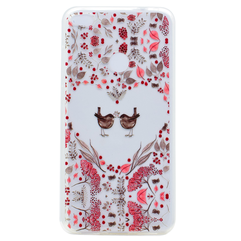 AKABEILA Silicon Cover Phone Cases For Huawei P8 Lite 2017 P9 Lite GR3 Honor 8 Nova Lite 2017 Cases Covers Flower Daisy Bag